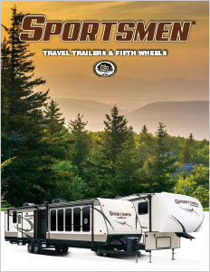 2018 K-Z RV Sportsmen Travel Trailers and Fifth Wheels Brochure