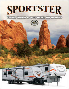 2018 KZ RV Sportster Travel Trailer and Fifth Wheel Toy Haulers Brochure