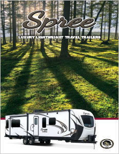 2018 KZ RV Spree Luxury Lightweight Travel Trailers Brochure