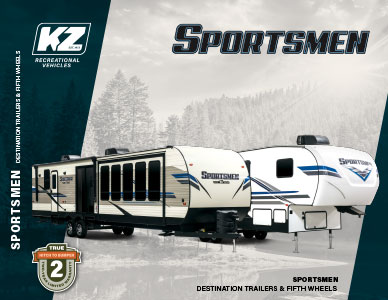 2020 KZ RV Sportsmen Destination Trailers and Fifth Wheels Brochure
