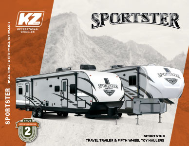 2020 KZ RV Sportster Travel Trailer and Fifth Wheel Toy Haulers Brochure