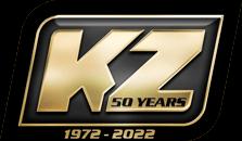 KZ RV 50th Anniversary Logo