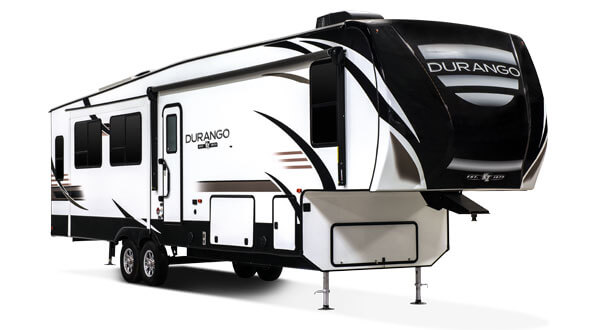 2019 KZ RV Durango Full Profile Luxury Fifth Wheel Exterior