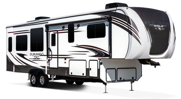 2019 KZ RV Durango Gold Fulltime Luxury Fifth Wheel Exterior