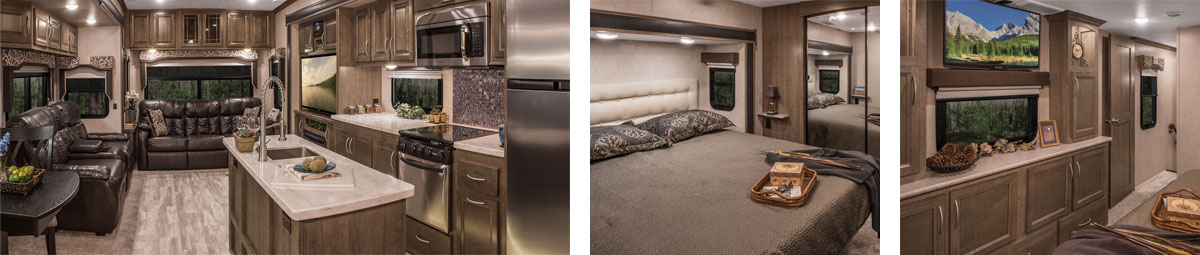 K-Z RV Durango Luxury Fifth Wheels