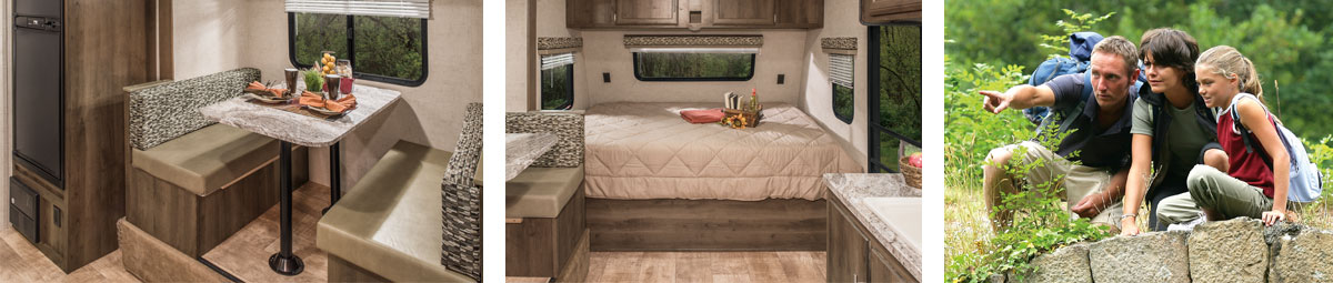 K-Z RV Escape Ultra Lightweight Travel Trailers