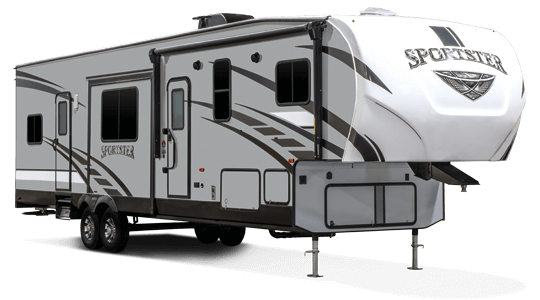 KZ RV Sportster 343TH11 Fifth Wheel Toy Hauler