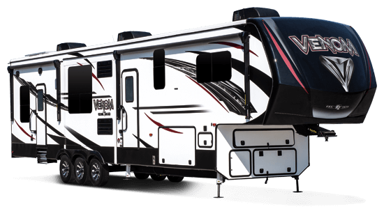 KZ RV Venom V3911TK Fifth Wheel Toy Hauler