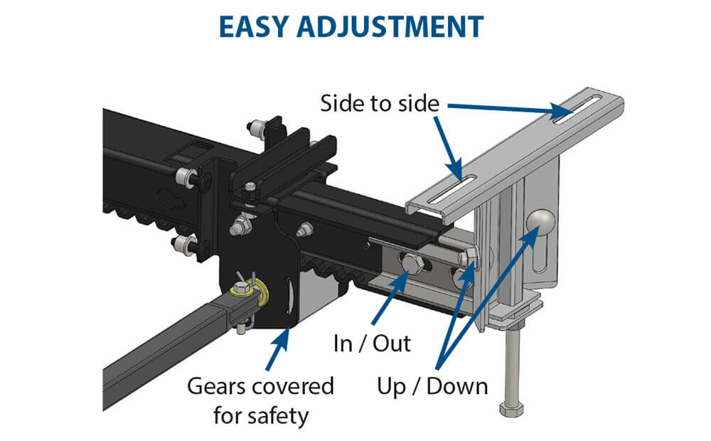 nxg travel trailer easy adjustment