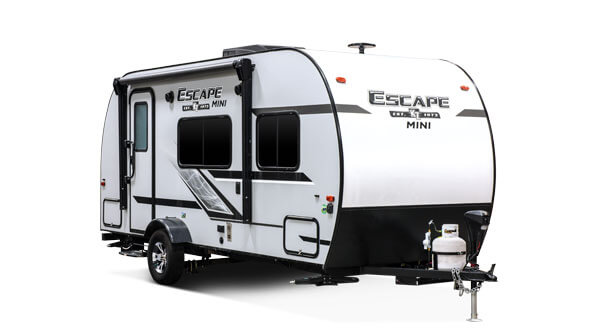 2019 KZ RV Escape Ultra Lightweight Travel Trailer Exterior