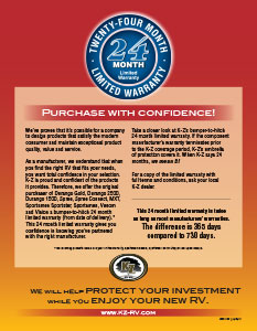K-Z 24 Month Warranty Flyer