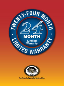 K-Z RV 24 Month Warranty Poster