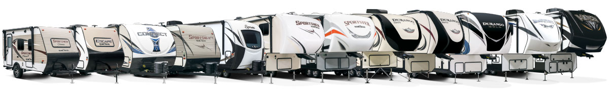 2018 KZ RV Exterior Product Lineup