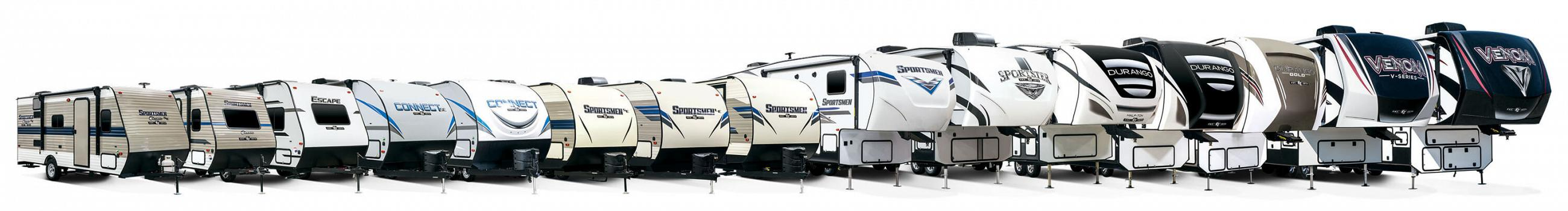 2020 KZ RV Exterior Product Lineup