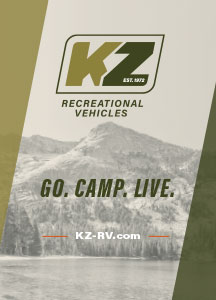 KZ RV Go Camp Live Poster