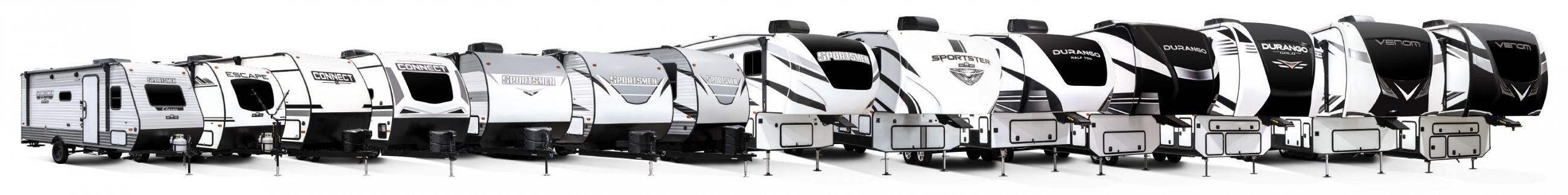 2021 KZ RV Exterior Product Lineup