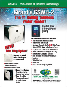 Girard Tankless Water Heater Flyer
