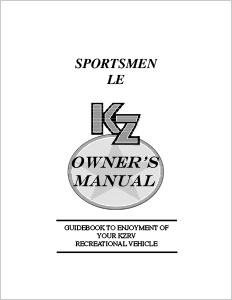 Owner's Manuals | KZ RV