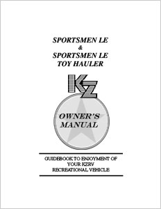 Owner's Manuals | KZ RV on