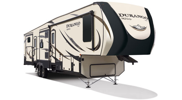 2017 KZ RV Durango 2500 Full Profile Fifth Wheels
