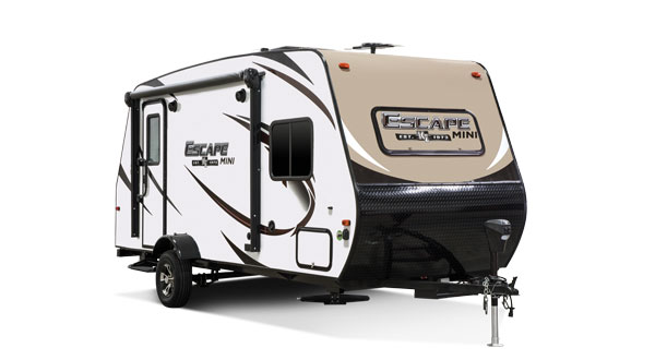 2017 KZ RV Escape Mini Ultra Lightweight Travel Trailers