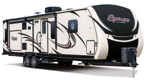 2017 K-Z RV Spree Lightweight Travel Trailers