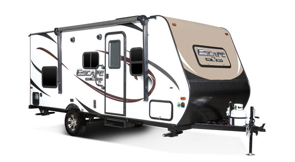 2018 K-Z RV Escape Ultra Lightweight Travel Trailer Toy Hauler Exterior