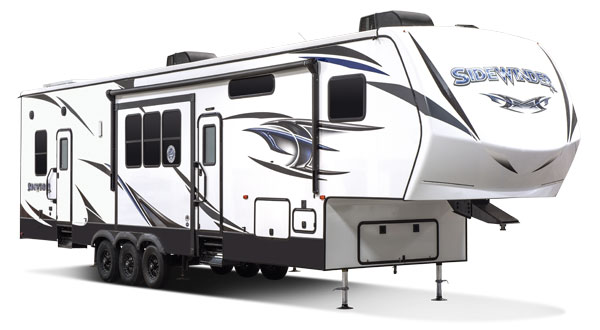 2018 K-Z RV Sidewinder Fifth Wheel Toy Hauler Exterior