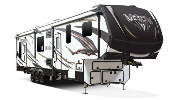 2018 K-Z RV Venom Luxury Fifth Wheel Toy Hauler Exterior